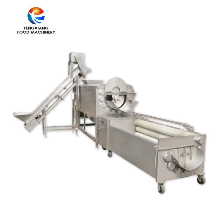 QXPG-2000 土豆清洗脫皮拋光生產線 1