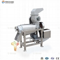 Mango pulping machine
