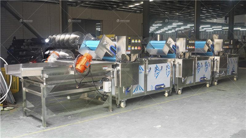 非標定製連續式果蔬清洗生產線 2