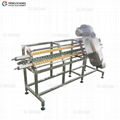 DY-I Automatic Tray Band Saw Machine Bean Sprout Heading Cutting Machine