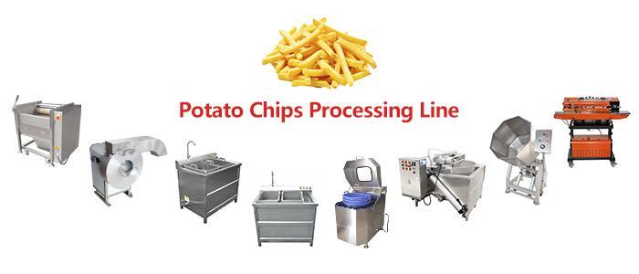 小型細薯條生產線 2