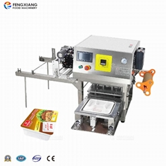 Automatic box packing and sealing machine