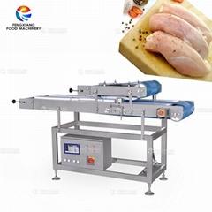 雞胸肉橫部切片機鮮肉分層切片機