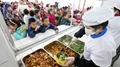 Fengxiang Officially Put Into Operation Vegetable Cutting and Cleaning Line for a Primary School Can