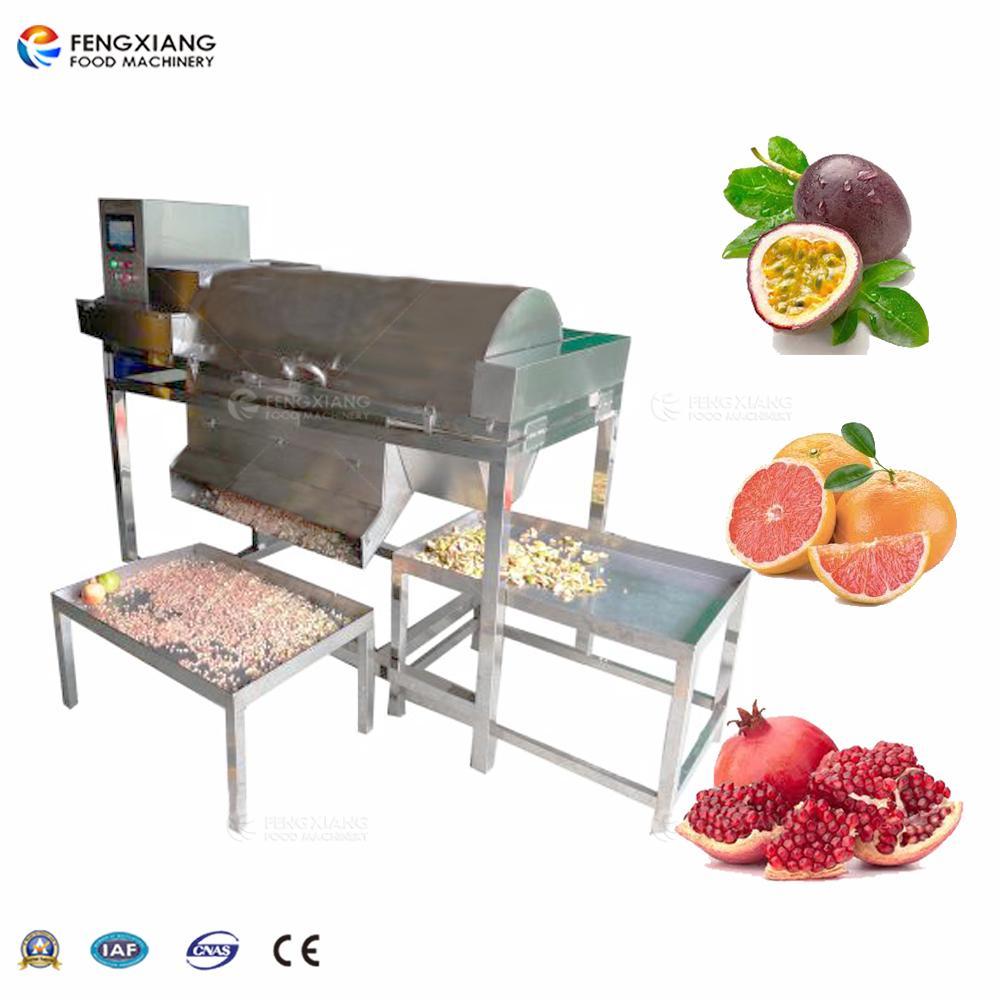 Automatic pulp splitter Passion fruit peeling machine