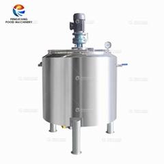 不锈钢液体混合搅拌机器罐