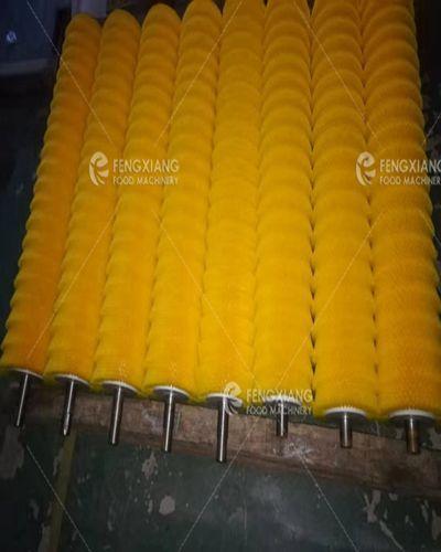 果蔬清洗去皮毛刷辊 食品机械清洁尼龙毛刷 3