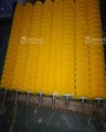 Industrial Customized Food Cleaning and Peeling Nylon Brush Roller 3