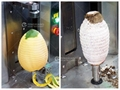 Small Desk-Top Automatic Melon Peeling Machine For Papaya Taro Jackfruit