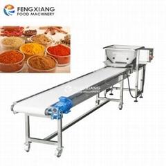 Automatic Horizontal Powder Vibrating Feeder Conveyor /Chain Shaker Feeder