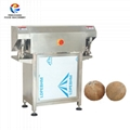 Semi-automatic Coconut Husk Removing Hard Shell Peeling Dehusking Shelling Machi