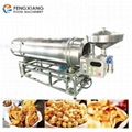 RTW-3000 Automatic Puffed Snack Food Flavoring Mixer Fried Chips Seasoning Machi
