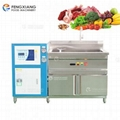 Refrigeration Vegetable Bubble Washing Machine Cooling Water Seafood Meat Clean