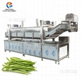 Automatic Lifting Vegetable Blanching Machine Green Beans Pre-Boiling Equipment