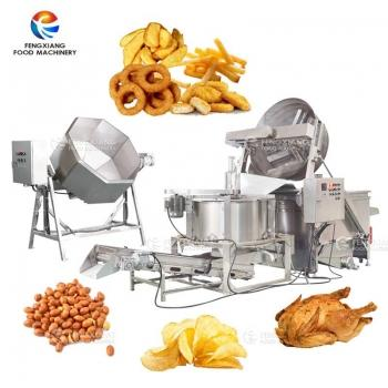 Industrial Food Seasoning Mixing Machine Frying De-Oiling Machine Production Li 1