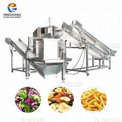 双输送带果蔬连续性脱水机 薯条脱水机