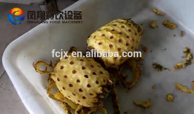 FXP-66 Fruit Peeler Pineapple Peeling Machine 5