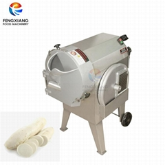 Commercial Vegetable Fruit Cube Cutting Machine White Radish Slicing Machine