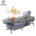 XWA-1300 Fruit Cleaning Machine Vortex Type Vegetable Washing Machine