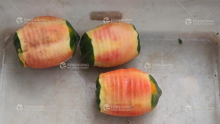 FXP-99 水果削皮机 双头冬瓜 南瓜 削皮机 9