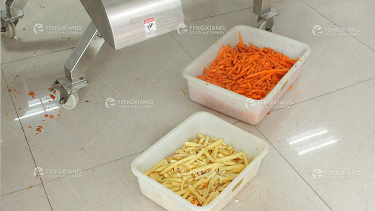 Aloe Pineapple Cube Cutter Large Fruit Vegetable Dicing Machine 6