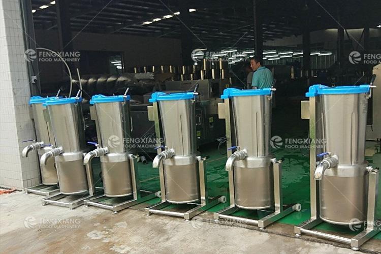Fruit Extractor Pulper Spinach Juice Making Machine 14L 30L 45L 2