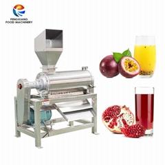 Pomegranate Passhion Fruit Juice Extractor Juicer Making Machine