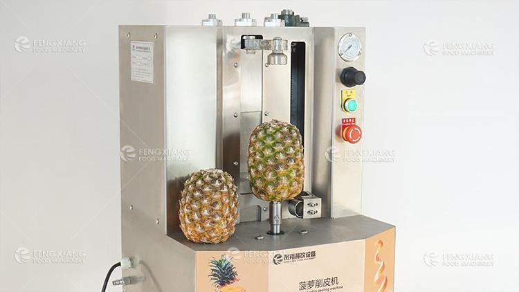 菠萝削皮机 小型瓜果削皮机 3