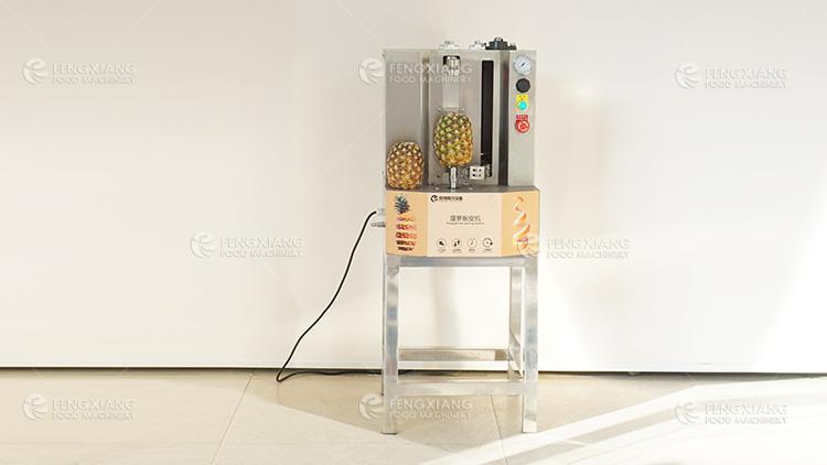 菠萝削皮机 小型瓜果削皮机 2