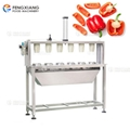 Automatic Vegetable Coring And Cutting Machine Pepper Splitting Machine