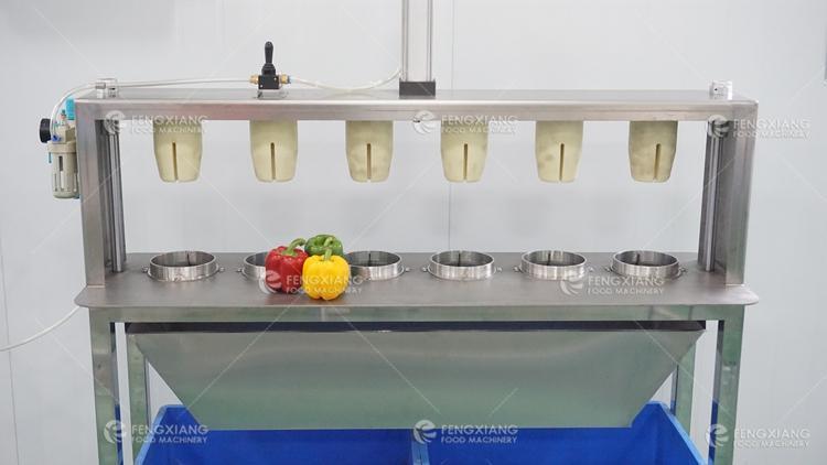 凤翔 瓜果捅芯分瓣机 青椒取芯机 4