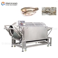 Automatic Rotating Small Fish Scale Removal Machine