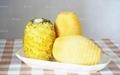 台式小型瓜果削皮机 菠萝木瓜椰子削皮机 8