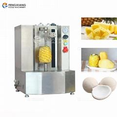 台式小型瓜果削皮机 菠萝木瓜椰子削皮机
