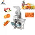 Vegetable and Fruit Crushing and Juicing