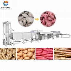 凤翔 红薯清洗风干生产线 生姜土豆清洗线