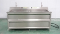 Vegetable Blancher Washer Fruit and Vegetable Blanching Machine