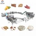 Automatic Cassava Flour Starch Processing Machine Cassava Production Line