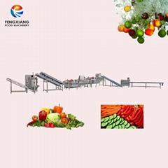 鳳翔 沙拉生產線 淨菜加工生產線