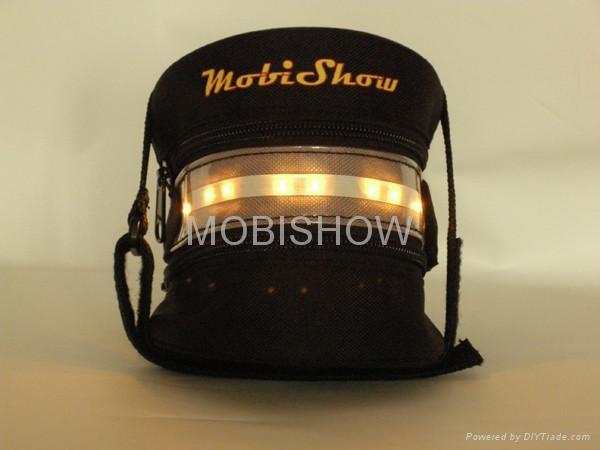 Bike Seat Bag with LED light 1