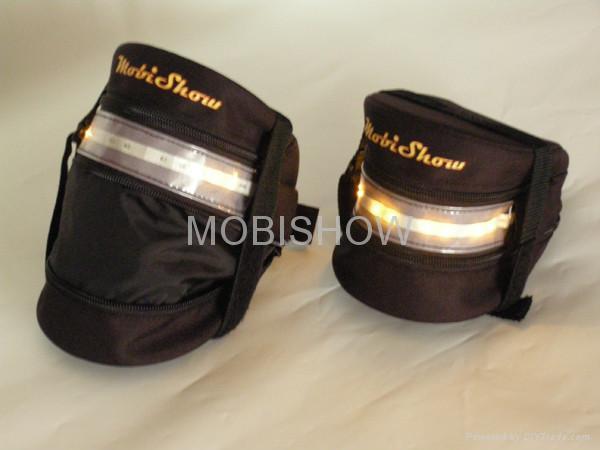 Bike Seat Bag with LED light 2