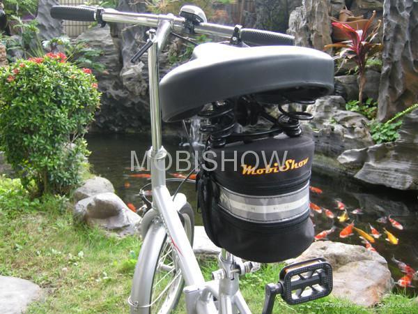 Bike Seat Bag with LED light 3