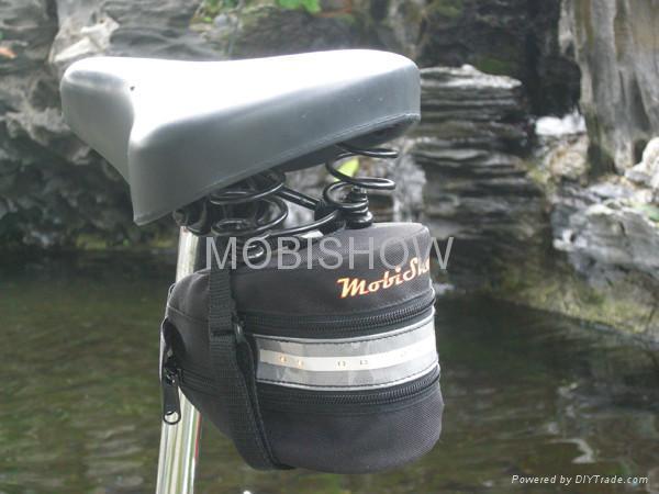 Bike Seat Bag with LED light 4