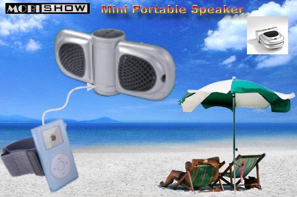 Mini Portable Speaker for iPod/ iPod Mini /MP3/CD 1