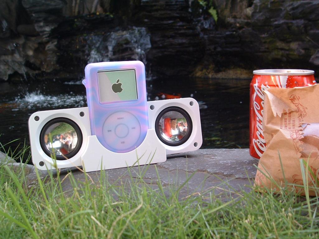 携带式iPod/MP3专用迷你喇叭 1