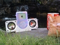 Portable Fold-Up Speaker iPOD, iPOD mini, MP3 1
