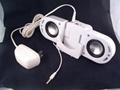 Transformer for iPod MP3 Mini Speaker  White Color