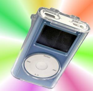 Crystal Clear Hard Case for iPod mini 1
