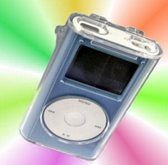 Crystal Clear Hard Case for iPod mini