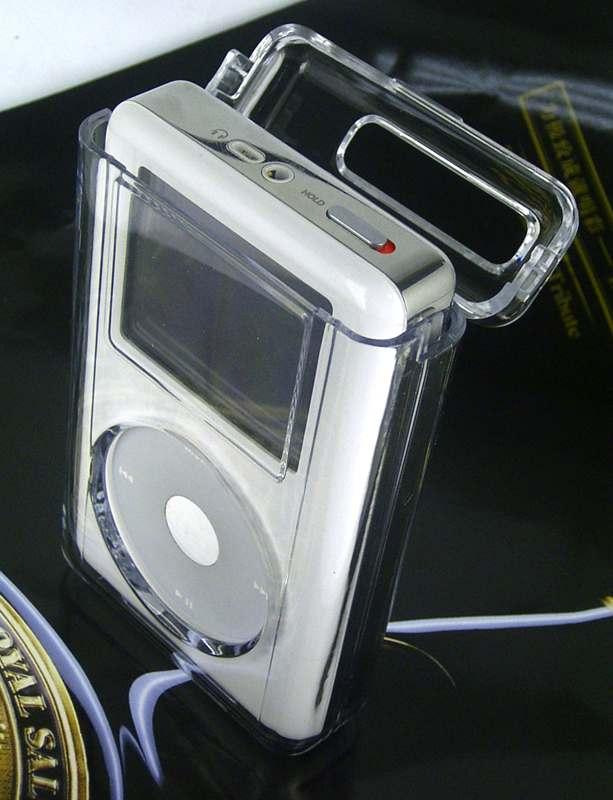 iPod Photo透明保護盒 1